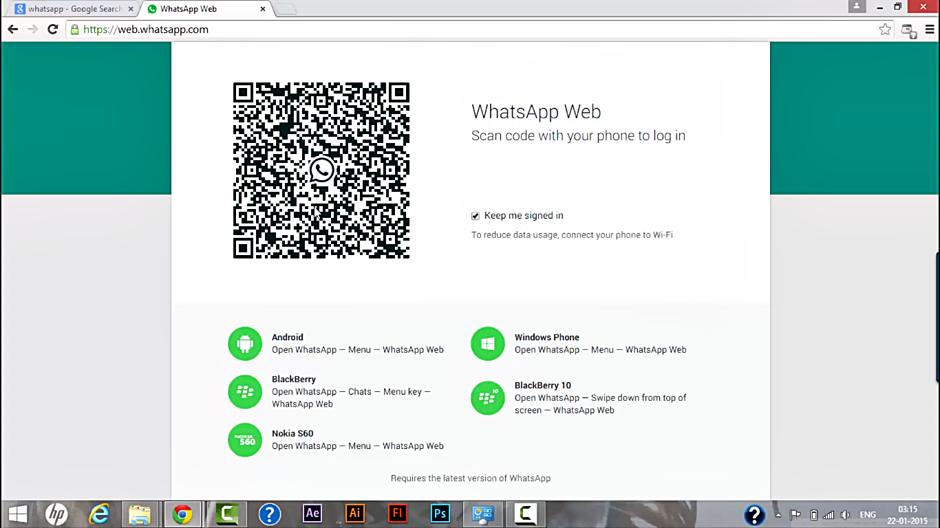 How To Scan Qr Code In Whatsapp Web Windows 81 Pinterest Qr Codes