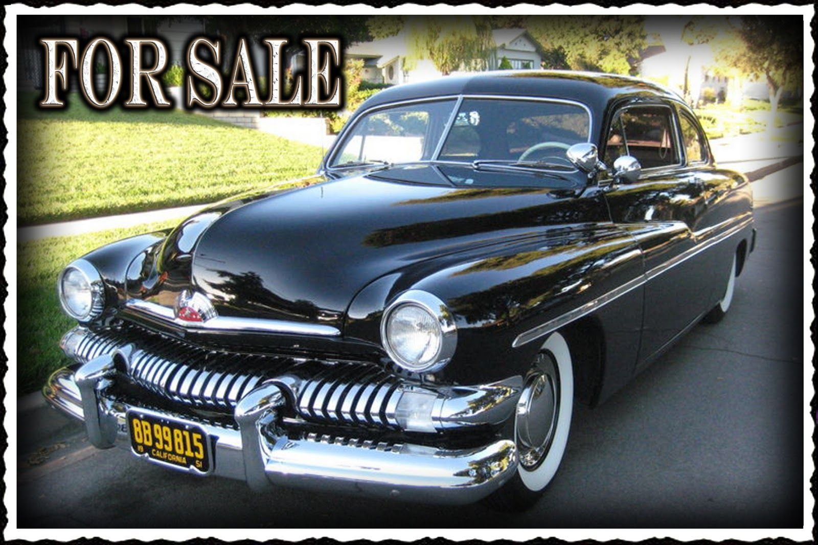 1951 Mercury Craigslist James Miranda S 1951 Mercury Is For Sale