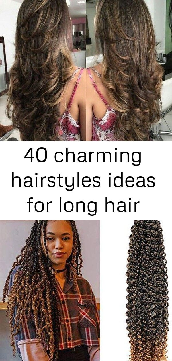 40 charming hairstyles ideas for long hair #passiontwistshairstylelong