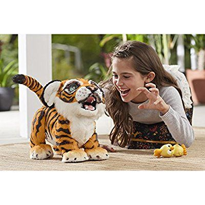 Amazon Com Furreal Roarin Tyler The Playful Tiger Toys Games Toys Deals Kids Toys Toys