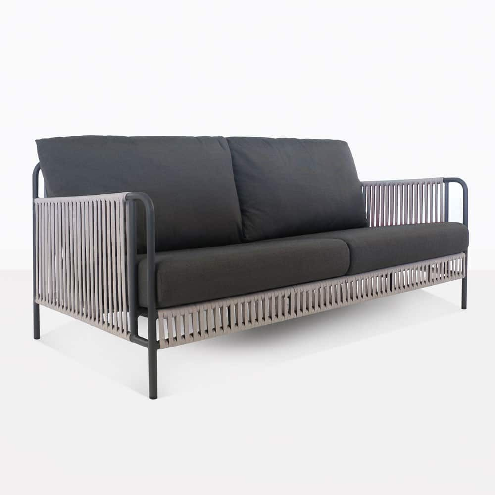 Make Your Fontana Outdoor Sofa The Central Focus In Your Backyard Fontana Outdoor Rope Sofas Come With Fre Deep Seating Furniture Outdoor Sofa Diy Patio Couch
