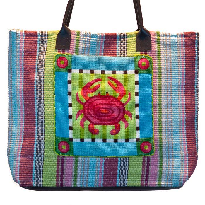 Coastal Craft Needlepoint Tote Bag Kits