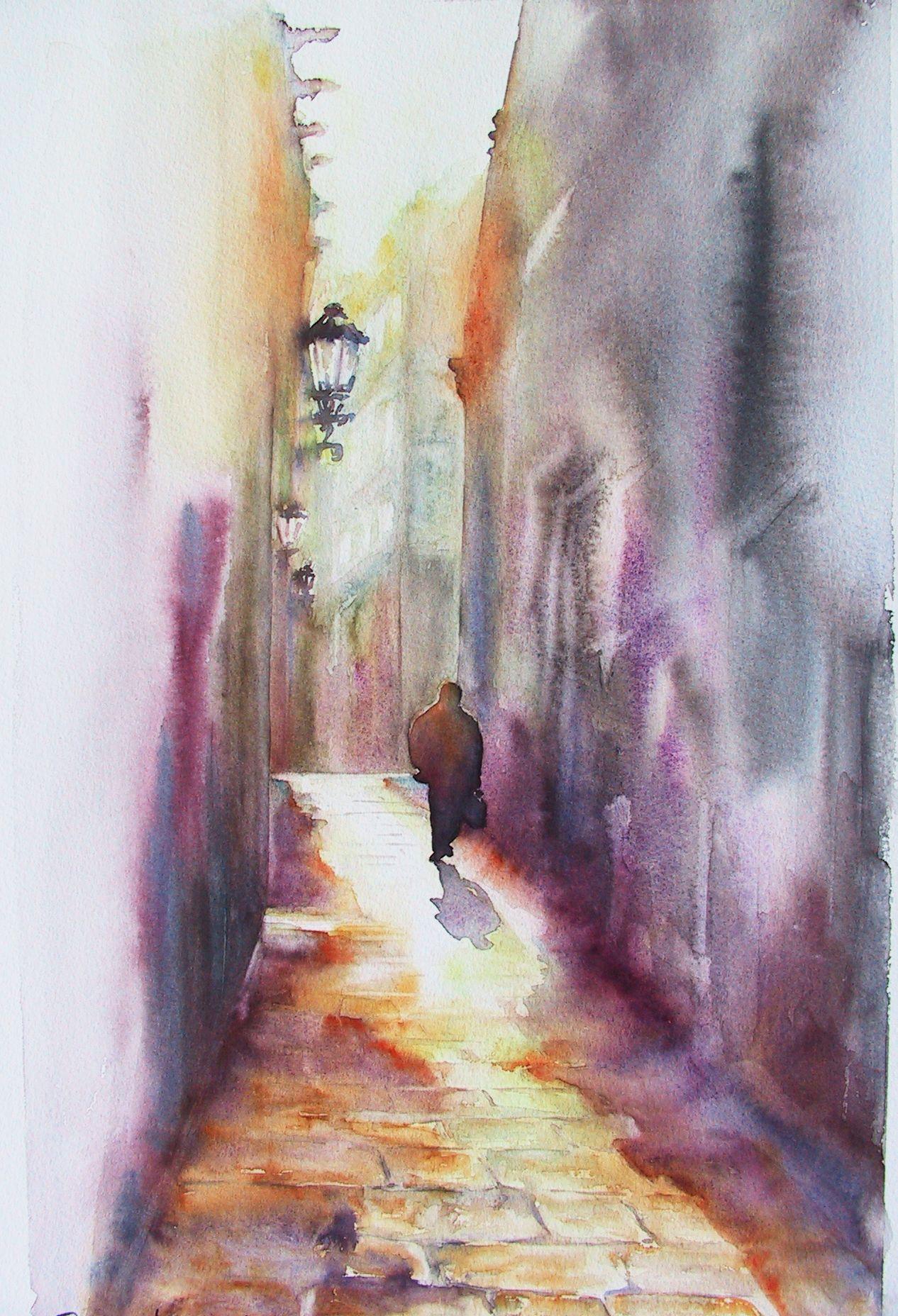 Aquarelle Corinne IZQUIERDO France   Watercolor ...