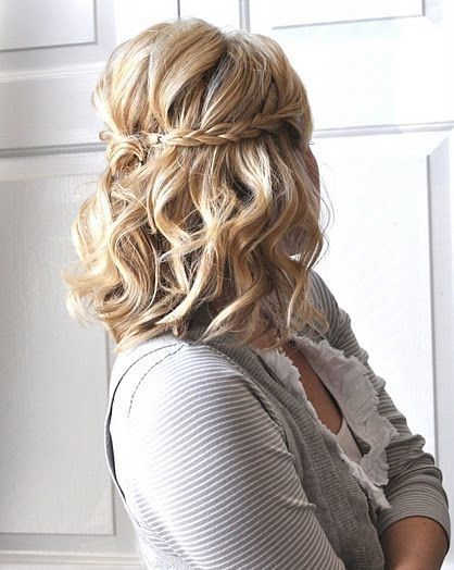 Sensational 1000 Images About Homecoming Hairstyles For Long Hair Down 2014 Short Hairstyles Gunalazisus