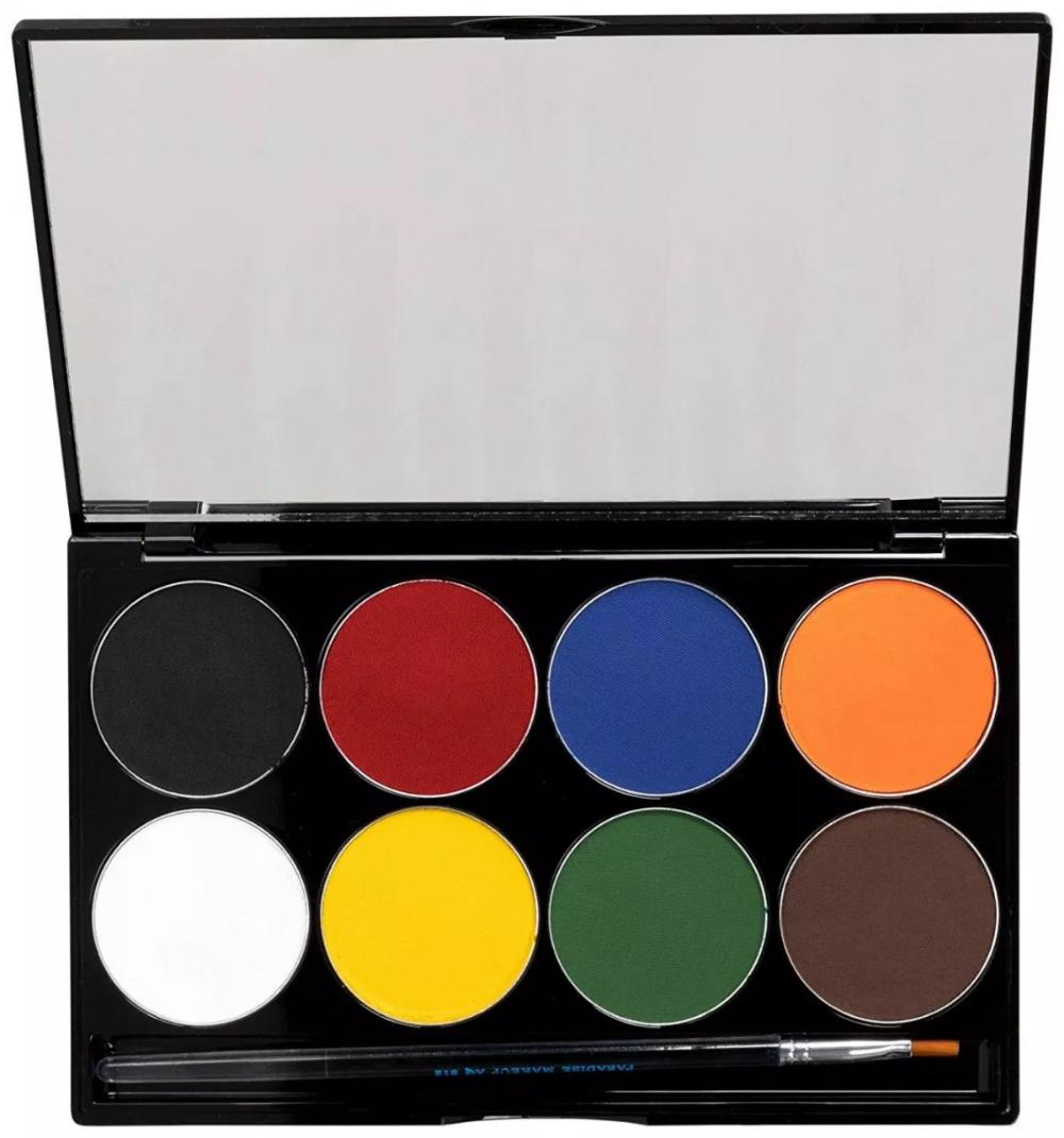 Mehron Makeup Paradise AQ Face & Body Paint 12 Color