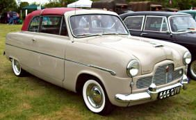 1952 1956 Ford Zephyr Convertible Classic British Ford Cars
