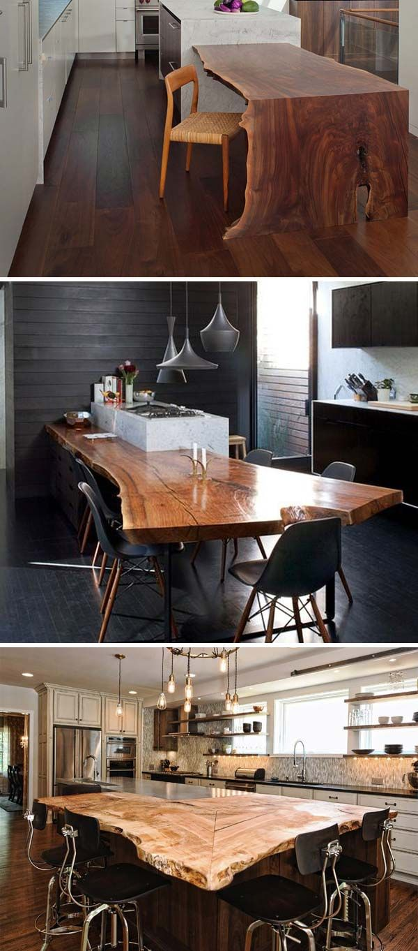 Top cool decorating ideas with live edge wood live edge wood