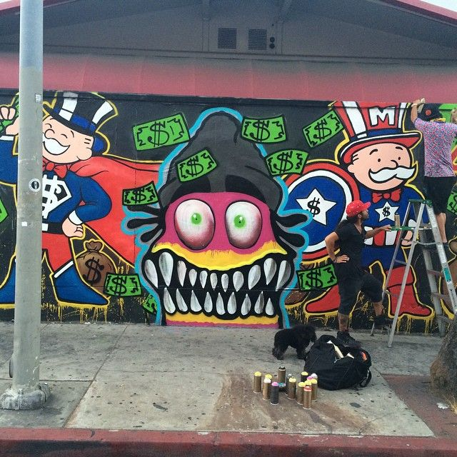 chris-brown-and-alec-monopoly-give-la-gas-station-the-graffiti ...