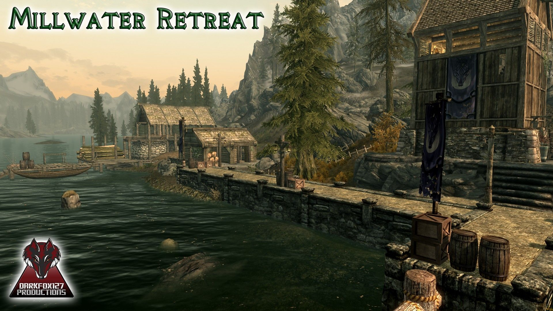 Millwater Retreat at Skyrim Nexus - mods and community The