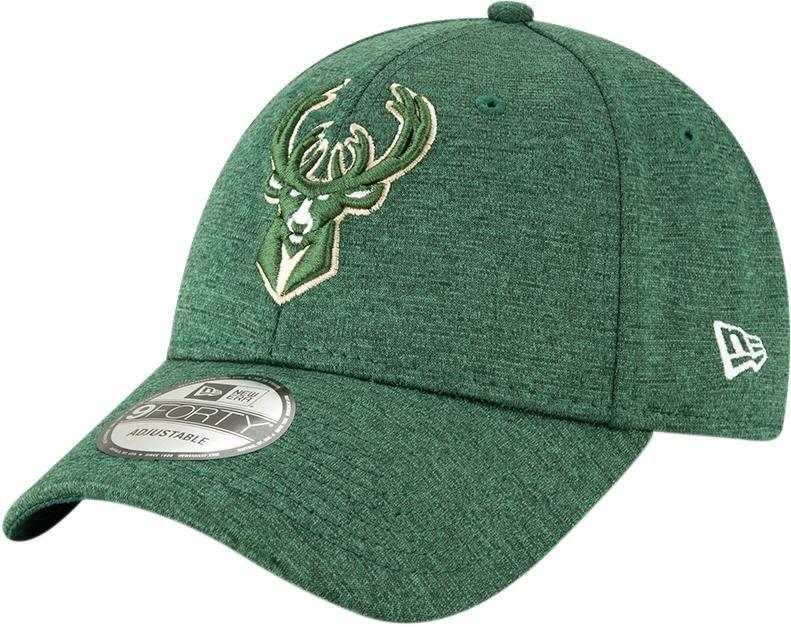 quality design 05a43 b5b35 Milwaukee Bucks New Era 940 Shadow Tech Green Baseball Cap – lovemycap