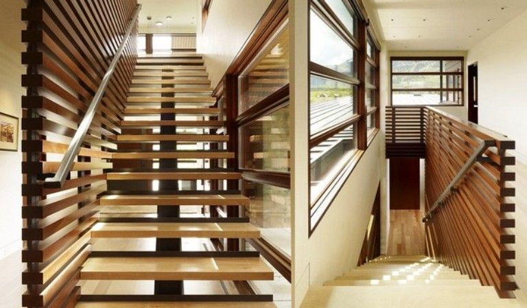 Best Architecture Solid Wood Straight Staircases Central 400 x 300