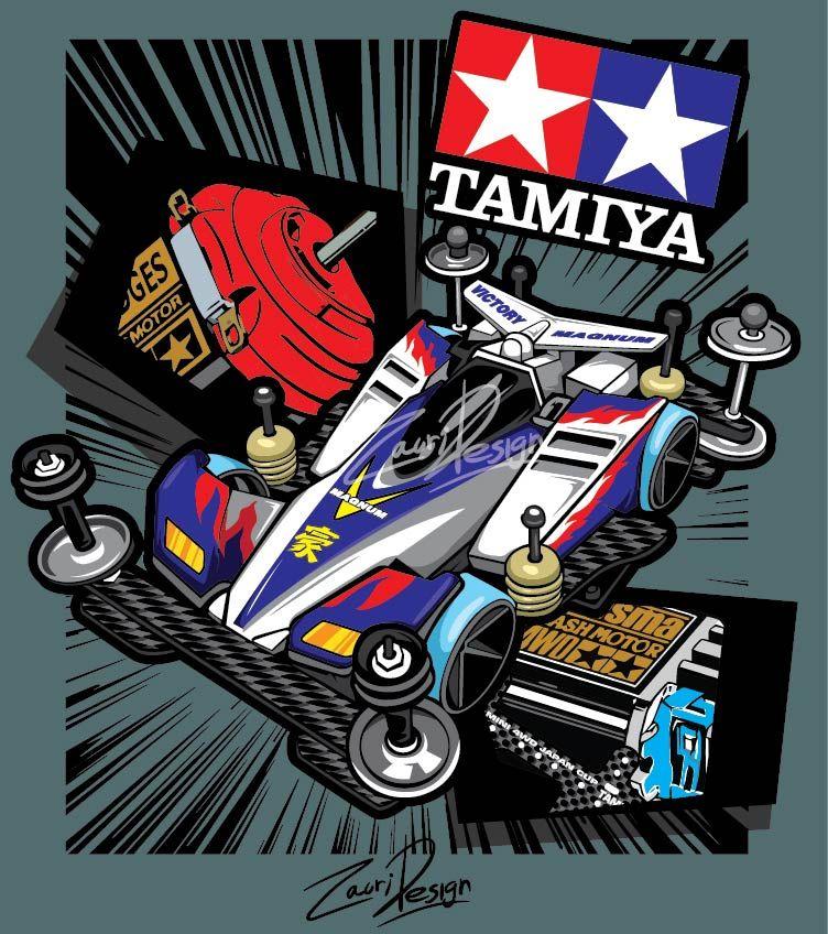 tamiya Mobil, Desain