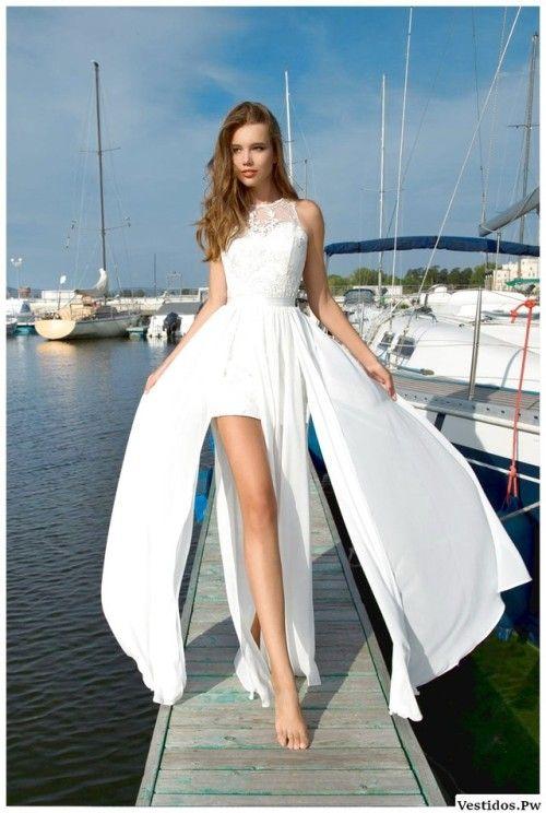 Vestidos de novia para fiesta en la playa