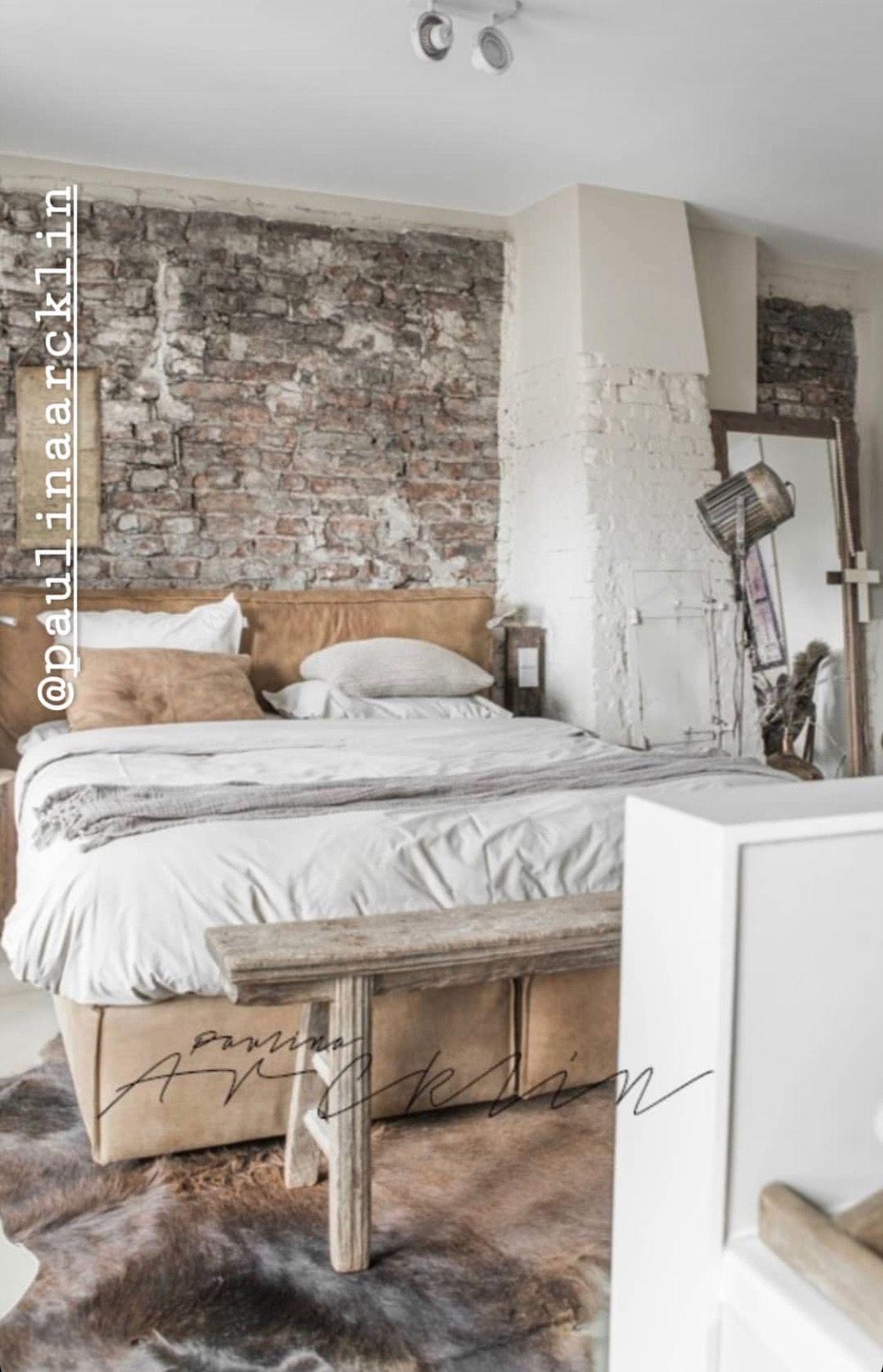 Image By Suad Habib On Bedrooms Industrial Style Bedroom Industrial Bedroom Design Industrial Decor Bedroom