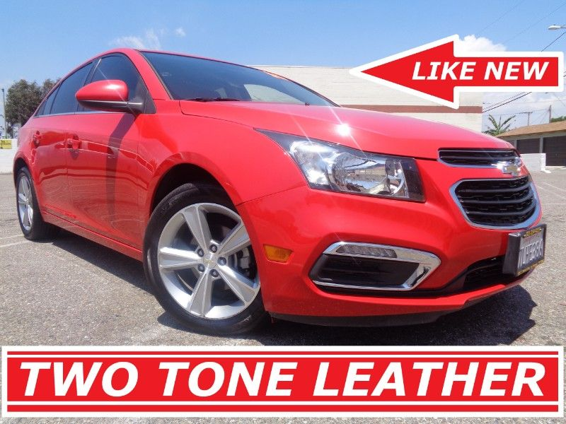 Used 2015 Chevrolet Cruze 2lt Two Tone Leather For Sale In Los