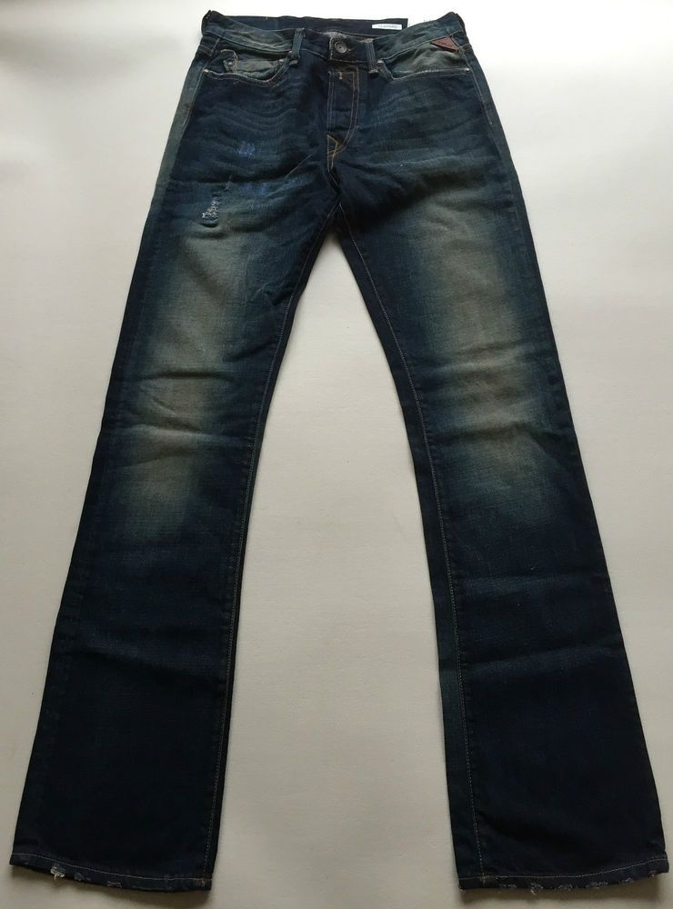 Mens Replay Jeans 29 x 34 Slohand Bootcut New Authentic RRP£125 ...
