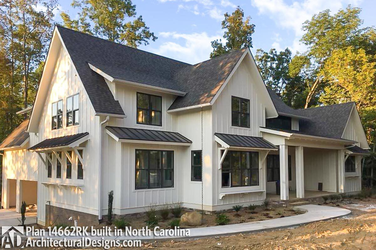 Plan 14662RK: Modern Farmhouse Plan Rich With Features In