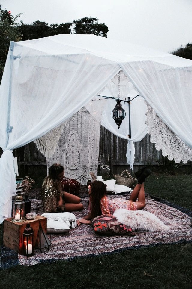 Daughter Of The Star Breather Diy Tent Diy Party Tent Bohemian Garden