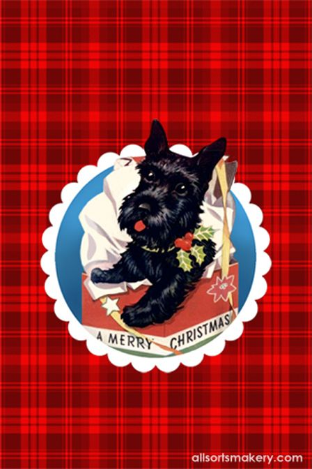 Allsorts Scottie Dog Scottie Terrier Scottie