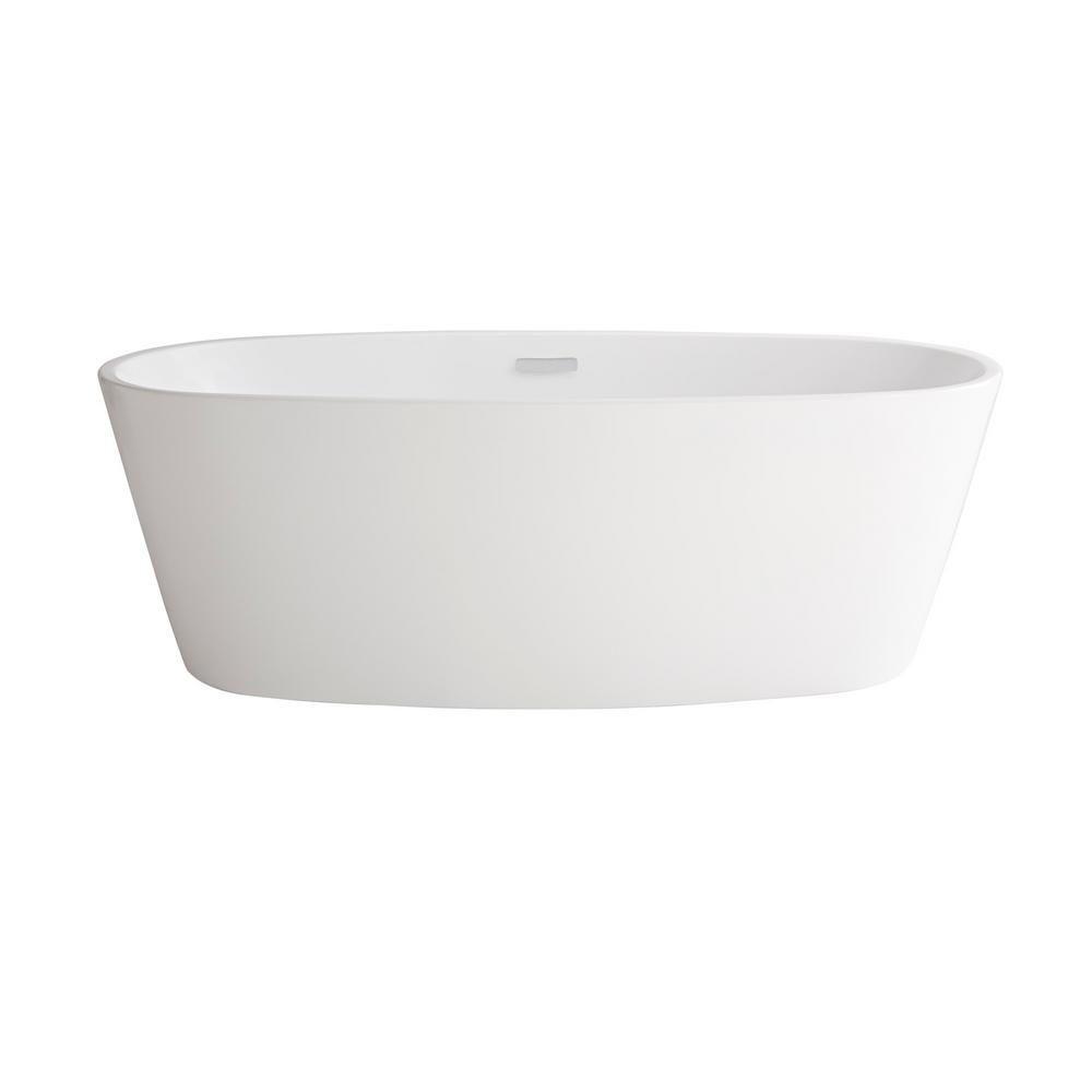 American Standard Coastal Serin 68 3 4 In Acrylic Flatbottom Bathtub In White In 2019 Bathtub Diy Bathtub