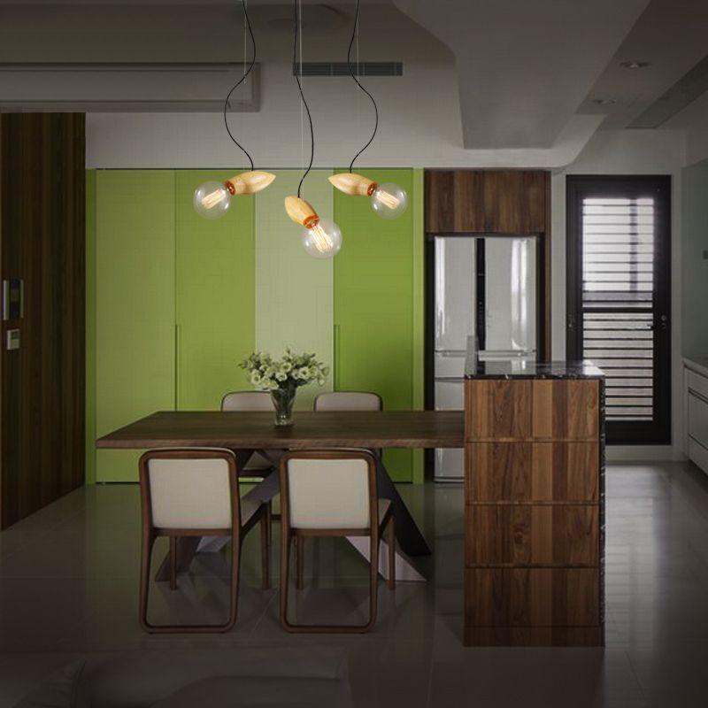 Best Retro Modern Wooden Creative Mango Shape Cafe Decorative 400 x 300