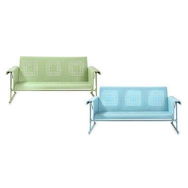 Crosley Veranda Sofa Glider Patio Furniture Sets Outdoor Swing Cushions Patio Furniture