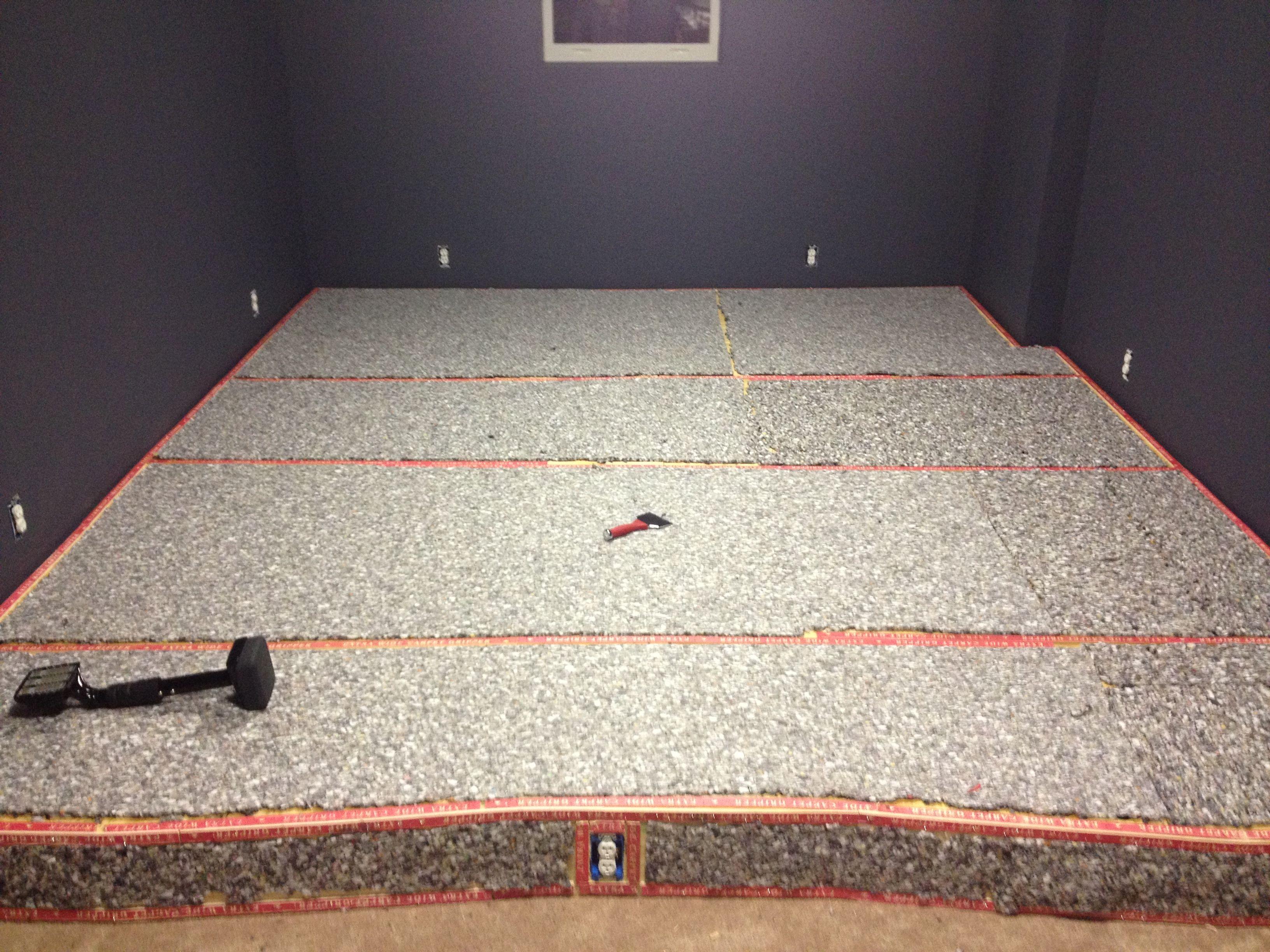 Adding Carpet Padding To The Seat Risers Carpet Padding Kids Rugs Home Theater