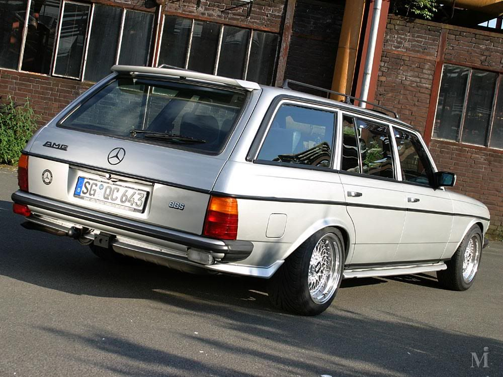 Mercedes W123 T Amg The Mercedes Benz W123 Automobil Benz Und