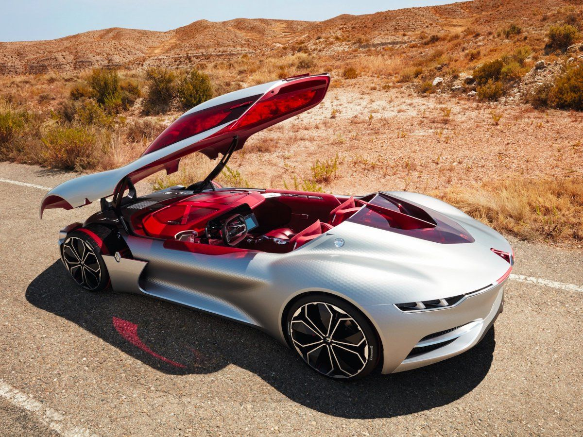 The canopy doors of the Trezor lift up so you have to climb into the car. & The 22 coolest concept cars revealed this year so far | Cars Luxury ...
