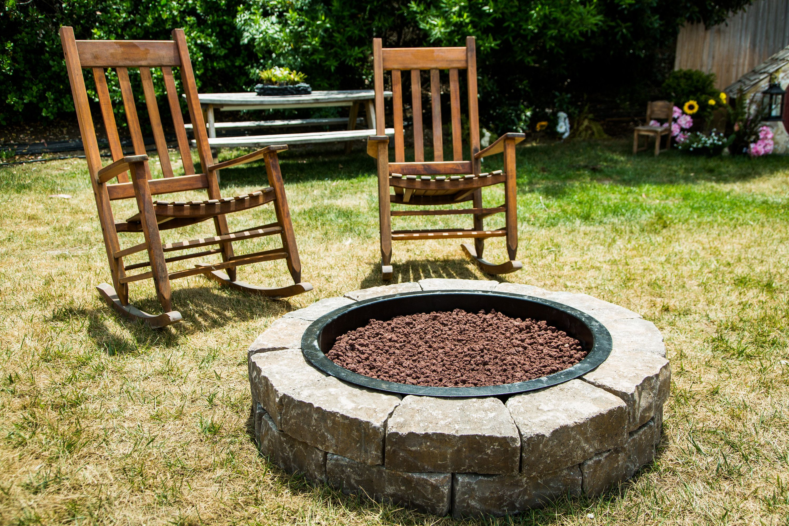 Give Your Yard An Upgrade With The Diy Ultimate Firepit By Matt Iseman Matt Rogers Don T Miss Home Family Weekdays At 10a 9c On Gazebo With Fire Pit Diy Fire