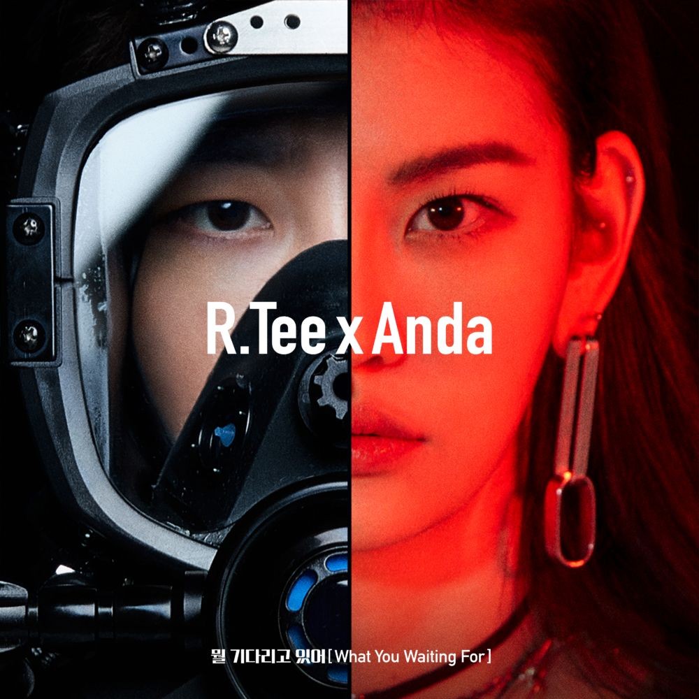 R Tee & Anda - 'What You Waiting For' Album Cover | ~~ Kpop