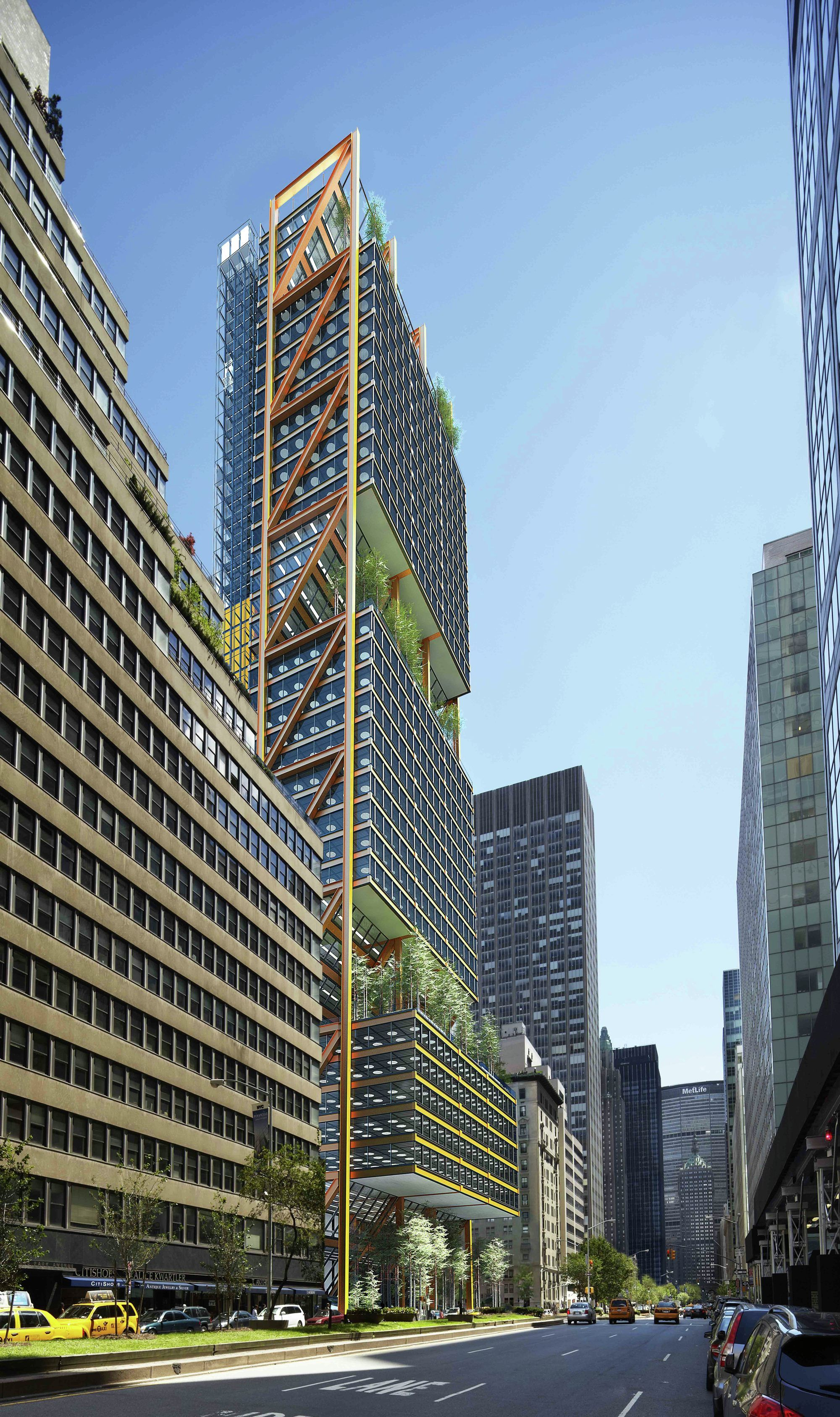 425 Park Ave Competition Finalists Announced Futuristic