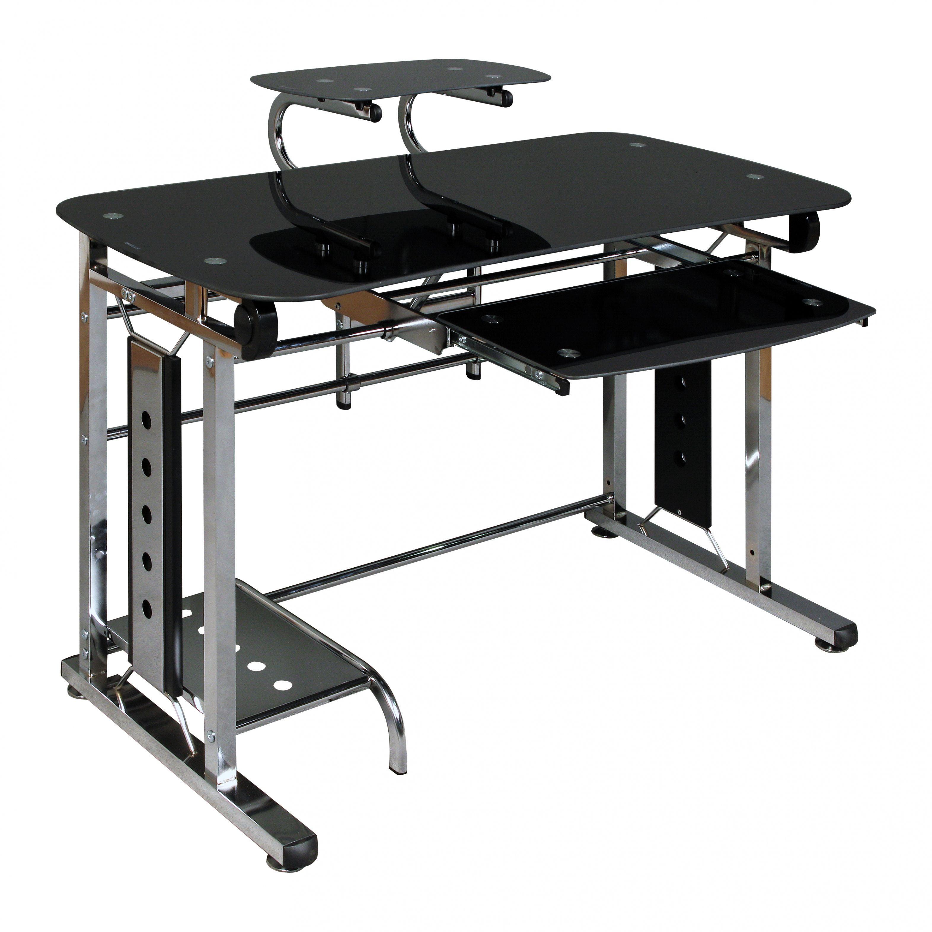 99+ Computer Desk Black Glass