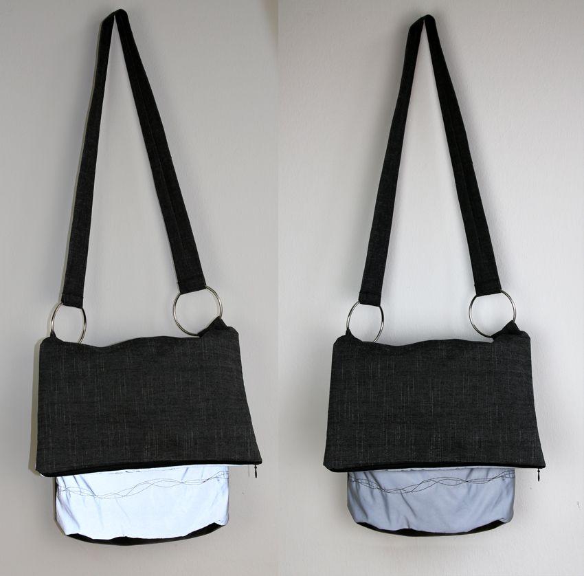Reflektortasche mit breitem Träger