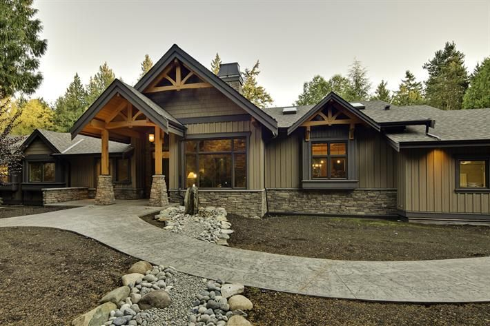 Love the exterior of this home harald koehn construction - Country style exterior house colors ...