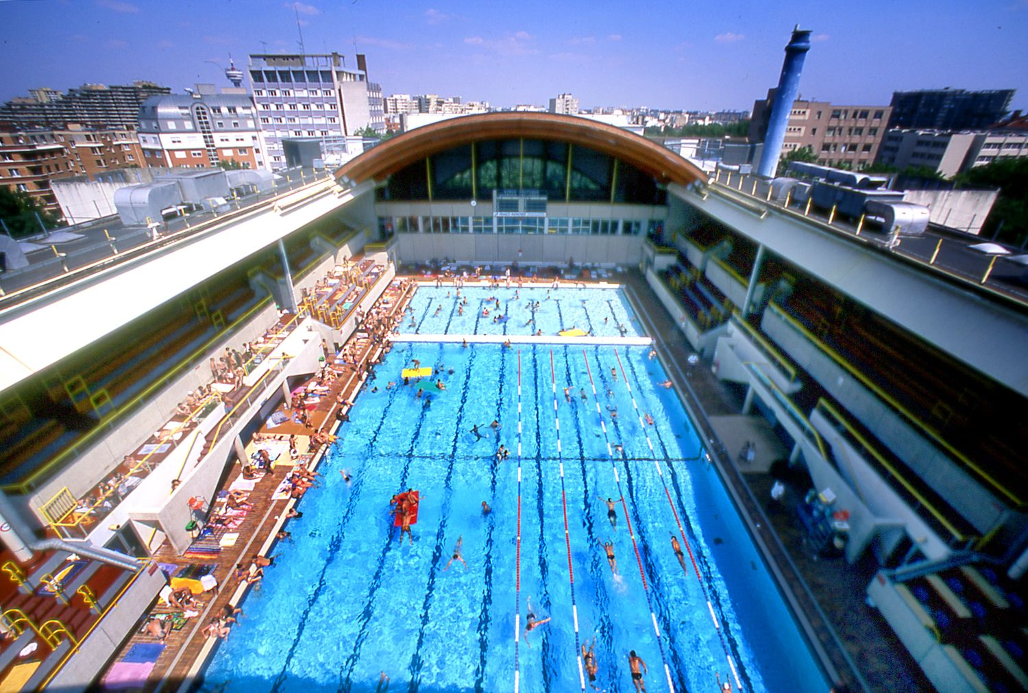 La Piscine Georges Vallerey Avec Images Piscine Olympique