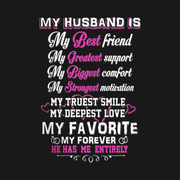 Check Out This Awesome Myhusbandismybestfriend Design On