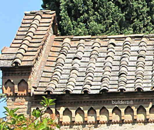 Imbrex And Tegula Roman House Roof Tiles Roofing