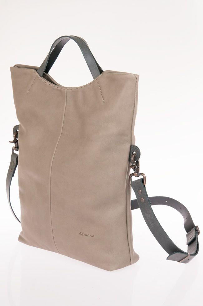 Toppy Leather Bag Handcrafted In Australia Temono