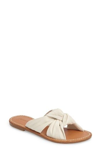 13272d9c6b1e Free shipping and returns on Soludos Knotted Slide Sandal (Women) at  Nordstrom.com. Knotted straps add a fun flourish to a summery slide sandal.