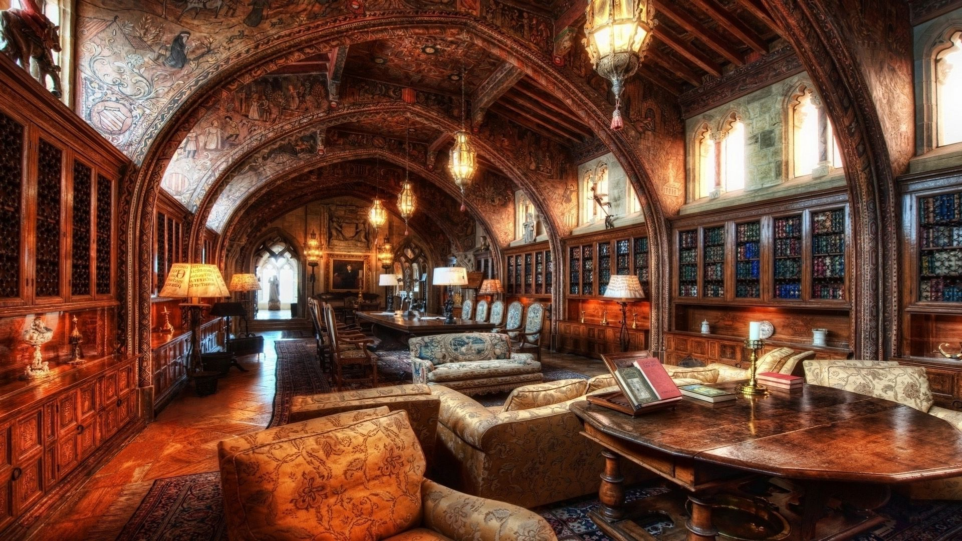 Old library wallpaper old architecture pinterest for House photos hd