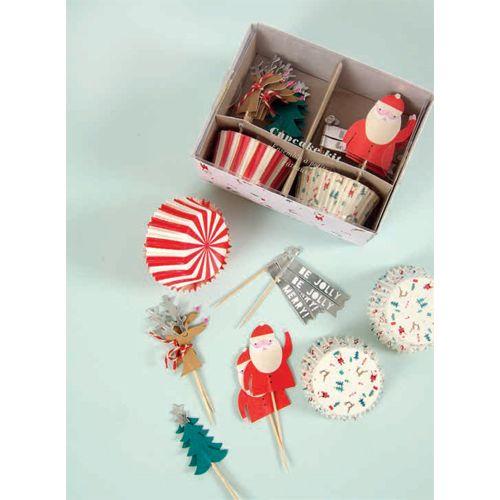 Be Jolly Cupcake Kit $1500   wwwfancyflours/product/be
