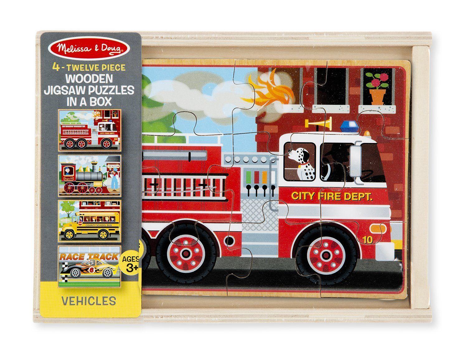 melissa doug vehicles jigsaw puzzles in a box bern baby outfitters