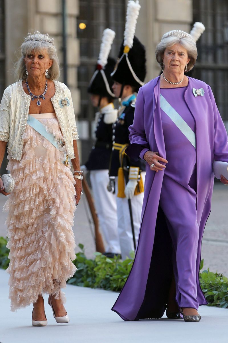 Las princesas Brígida y Margarita de Suecia. | BODA de la PRINCESA ...