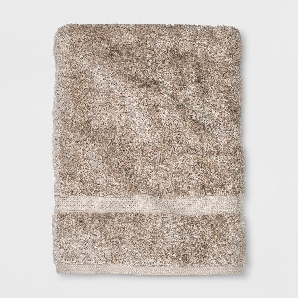Perfectly Soft Solid Bath Towel Sandalwood Tan Opalhouse Soft