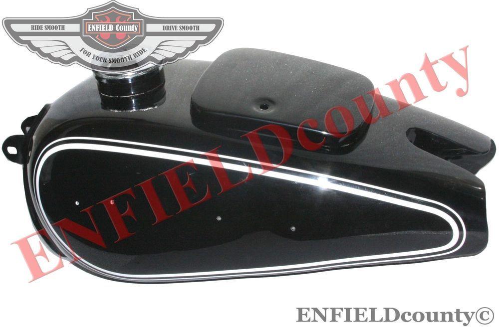 New Steel Black Painted White Stripe Petrol Fuel Gas Tank Bmw R - Vinyl stripes for motorcyclespopular motorcycle tank stripesbuy cheap motorcycle tank stripes