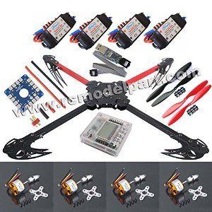 Amazon com: Hobbypower X525 V3 Quadcopter Foldable Kit