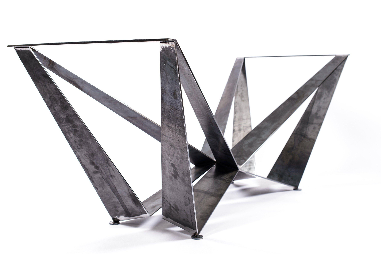 Base de mesa de comedor hecha a mano, patas de mesa de metal, base de mesa de metal, patas de mesa personalizadas – #TB005