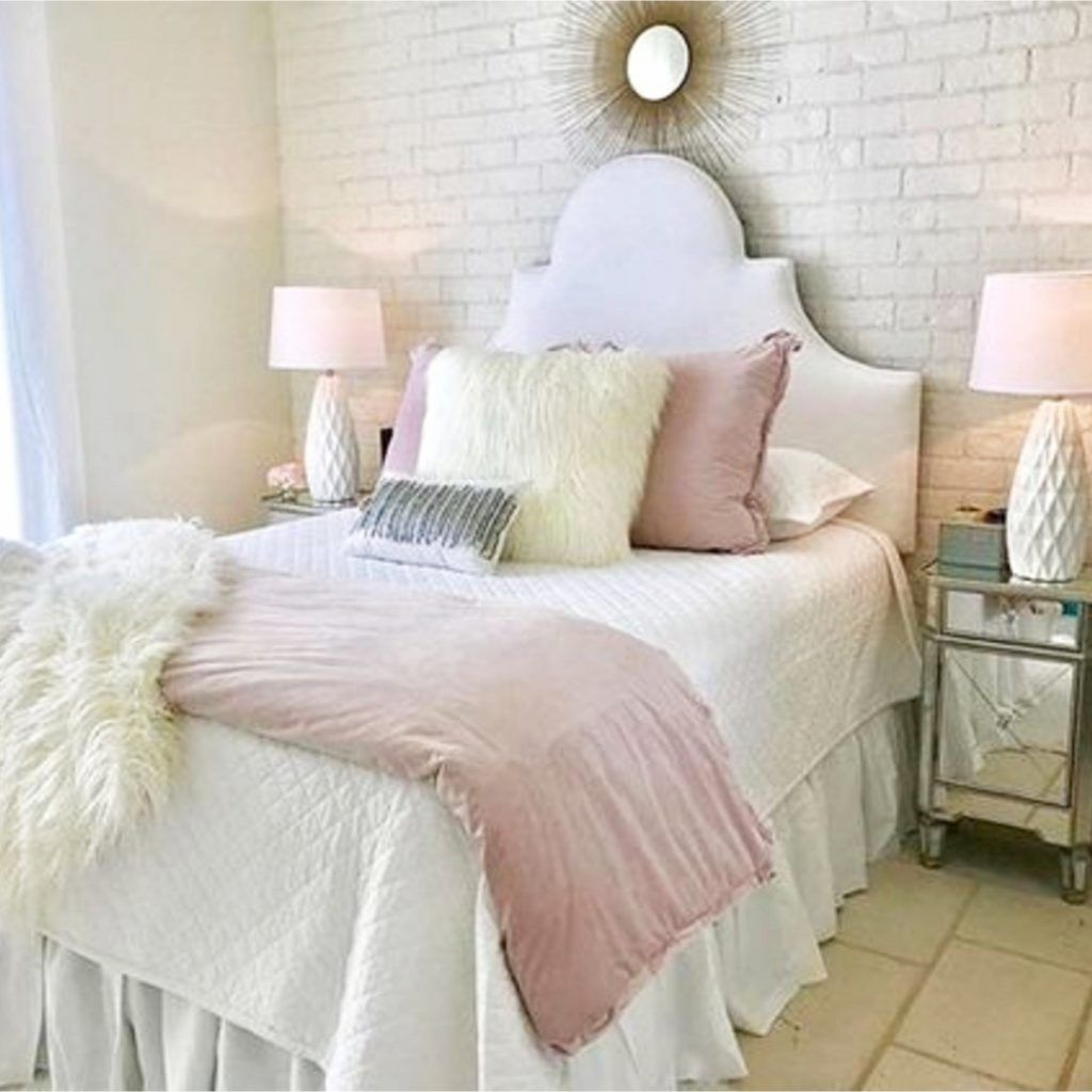Blush Pink Bedroom Ideas Dusty Rose Bedroom Decor And Bedding I Love Clever Diy Ideas Pink Bedrooms Pink Bedroom Decor Blush Pink Bedroom