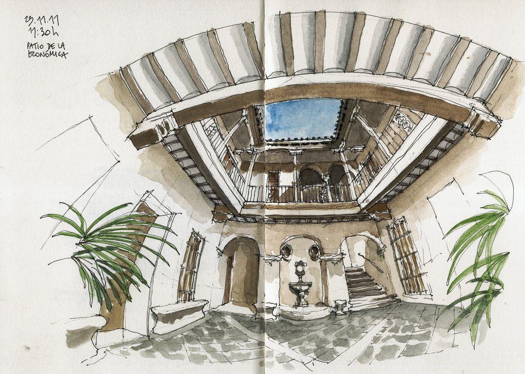 Málaga, Casa del Consulado, court | by Luis_Ruiz